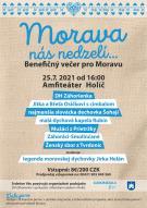 Benefičný večer pre Moravu, Amfiteáter Holíč 25.07.2021 od 16.00 hod.